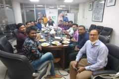 TMGB Member meeting with ICT State Minister Zunaid Ahmed Palak